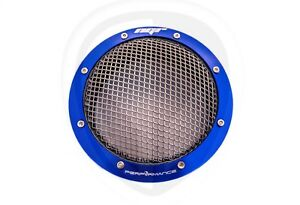 Ngr Turbo Filter 4in drag Edition Turbo Protector Guard 4 Inches Blue