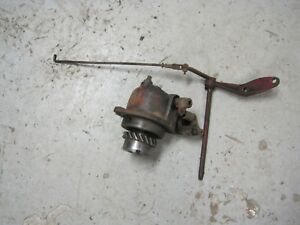 Farmall Cub Tractor Lo boy Engine Governor Assembly
