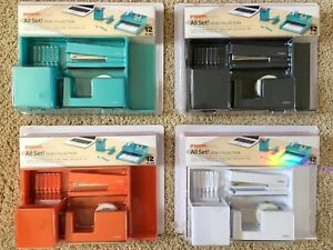Poppin All Set Desk Collection 12 Pc Set 4 Colors To Choose Pick Any 2