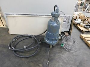 Marley 4 Hydr o matic S4lx2000jc Submersible Solids Handling Pump 20 Hp 230v