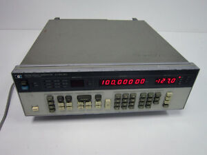 Hp Agilent 8656b 0 1 990 Mhz Signal Generator Option 002