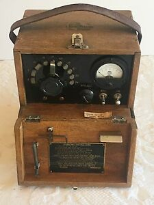 Vintage Tag Heppenstall Wood Moisture Meter Moore Dry Kiln Co Steampunk