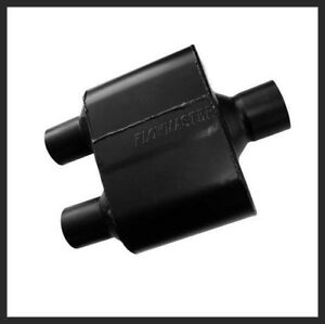 Flowmaster Super 10 Muffler 3 In Inlet 2 1 2 Inch Dual Oulets 8430152