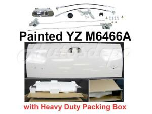 Painted M6466a White Tailgate Lock Hardware Kit For Ford Super Duty 1999 2007
