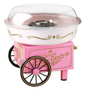 Nostalgia Electrics Vintage Collection Sugar Free Cotton Candy Maker Machine