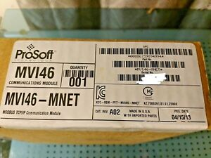New Prosoft Mvi56e mnet Mvi56emnet Communications Module Modbus Tcp ip Nib