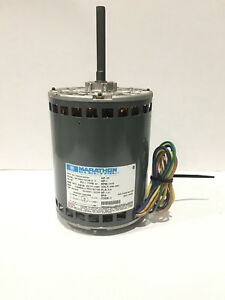 Marathon Electric Motor 1hp 1075 Rpm 200 230v 60hz 5wj48a1101331d