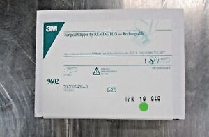 3m 9602 Rechargeable Surgical Clipper New