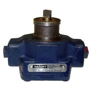 Haight Fryer Filter Pump For Broaster part 09273 Same Day Shipping