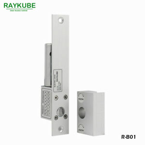 Electric Bolt Lock Glass Door Clamp For Office Glass Door Access Control System