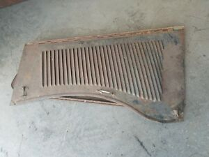1933 Plymouth Coupe sedan Hood Original Complete W one Extra Piece