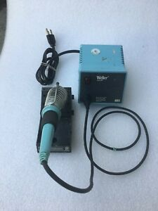 Weller Wtcpt Soldering Station With Weller Tc201t Soldering Pencil Used