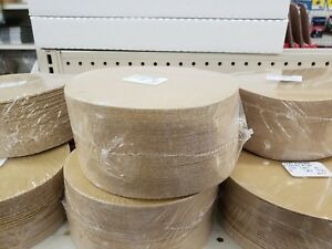 6 Psa Tab Discs Sticky Sand Paper Discs 320 Grit 100 Pack Premium Gold