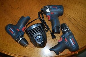 Bosch Drill And 1 4 Driver 12 Volts