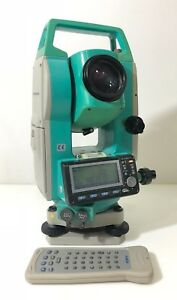 Used Sokkia Set510 5 Total Station With Sf14 Wireless Keyboard Ship World Wide