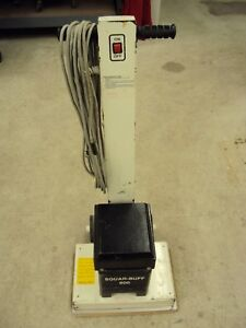 Square buff Orbital Floor Sander 1993