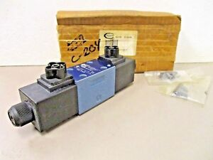 Continental Hydraulics Vsd03m 3g g 42l a Directional Control Solenoid Valve 24v