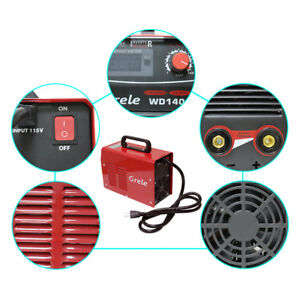 Us Handheld Mma Welder Stick Arc Dc Inverter Welding Machine Tool 115v 20 140a