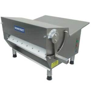 Somerset Cdr 300 Dough Sheeter 1 2 Hp 15 Synthetic Rollers 500 600 Pieces Pe