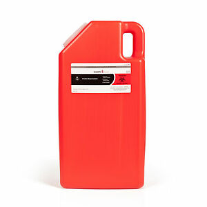 3 gallon Sharps Container Case Of 10 Needle Disposal Container Bins