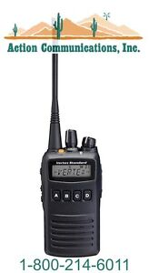 New Vertex standard Vx 454 Vhf 136 174 Mhz 5 Watt 512 Channel Two Way Radio