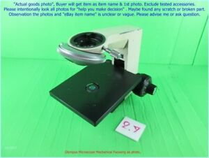 Olympus Microscope Ch Mechanical Focusing Part As Photo