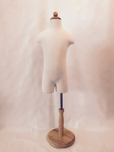 Children child kid Mannequin 1 2 Years Old Store Display Dress Form Partial Legs