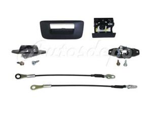 Tailgate Handle Bezel Cable Latch Release For Silverado 2007 2013 W o Keyhole