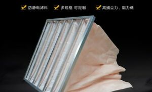 592 592mm Air Purification Clean Dust Particle Filter Bag class F5 g5065 Xh