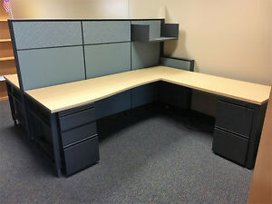Herman Miller Canvas Cubicles W Glass