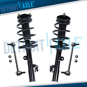 Front Strut Sway Bar Kit For 2008 2009 2013 Toyota Highlander No Sport Susp