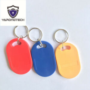 Dual Frequency Rfid Tag 125khz 13 56mhz Mifare Classic 1k Chip Fob pack Of 10