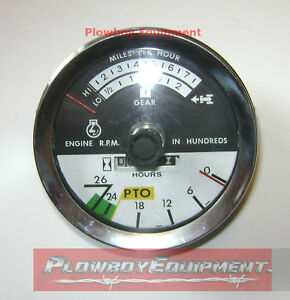 67679c2 Tachometer For Farmall Ih 766 966 1066 1466 1468 786 986 1086 1486 3088