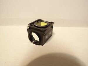 Nikon Bv 1a Fluorescence Filter Cube Optiphot Labophot Diaphot Dm455 Ba420 Blue