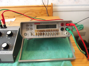Keithley 197a Microvolt Dmm W manual On Cd No Probes As is Free Shipping