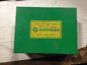 Greenlee 1820 Cable Stripping System Set