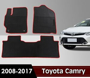 Toyota Camry 2012 2017 All Weather Floor Mat Cab Front Rear Rubber Mat