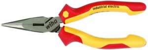 Wiha 32926 6 3 inch Insulated Industrial Long Nose Pliers