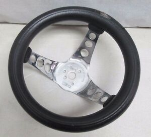 Vintage The 500 Superior Performance Products Steering Wheel 10 5 Inch