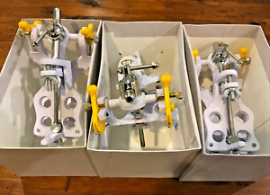 Lab Galetti Dental Plasterless Articulator New 3 Sets