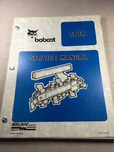 Bobcat T108 Trencher Service Manual