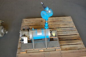Crane Canned Pump Model W2c1 5k 6s Stainless Steel 316 Ss 1 X 1 2 10 Gpm