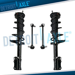 Rear Strut W spring Sway Bar Link Kit For 2002 2003 Toyota Camry Lexus Es300