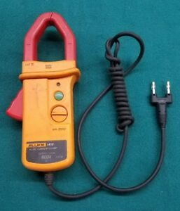 Used Fluke I410 Ac dc Current Clamp Meter Voltmeter Good Shape Tested Works
