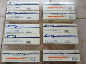 10 X 10 100 Pieces Personna Safety Sterile Disposable Scalpel Personna Blades