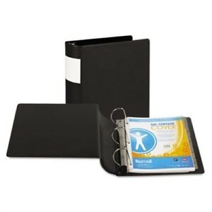 Top Performance Dxl Locking D ring Binder With Label Holder 4 Capacity Black X3