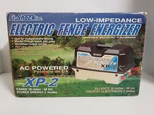 Fi shock Xp 2 Electric Fence Energizer Ac powered 30 Mile Low Impedance