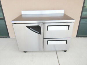 Turbo air Twr 48sd d2 Super Deluxe Worktop Refrigerator 12 Cu Ft Stainless