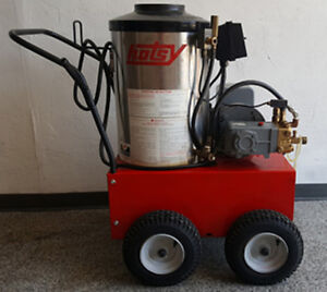 Used Hotsy 870ss Hot Water Electric Diesel 4gpm 2000psi Pressure Washer