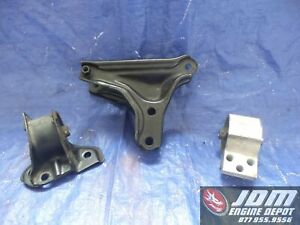 94 01 Honda acura Integra Type r Gsr Engine Brackets Post Mount Jdm B18c